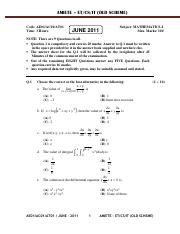 (www.entrance-exam.net)-IETE AMIETE-ET-CS-IT (Old Scheme) Mathematics-I Sample Paper 1.pdf