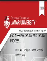 Module I Part I Engineering Design and Design Process.pptx