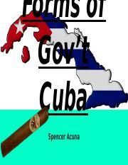 Forms of Gov't Cuba.pptx
