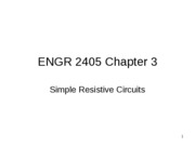 ENGR 2405 Chapter 3