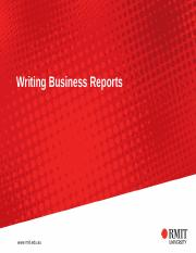 ACCT1028 Spring Writing-Business-Reports