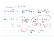 Class problems notes April 27 09