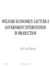 Welfare Economics L8 Government Intervention in Production_1038641