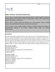 devry cis 115 course description