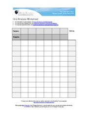 GridAnalysisWorksheet