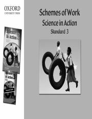 science schemes class 3