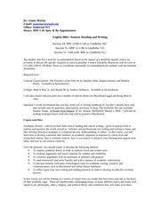 Coherent essay form
