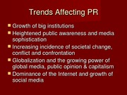 History of Public Relations