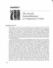 Von Lampe - 2016 - The Social Embeddedness - Organized Crime (218-237)