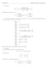 MATH 3242 2014 Assignment 3