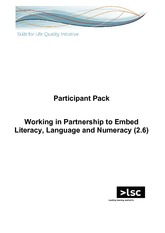 1. Working In Partnership - Participant Pack