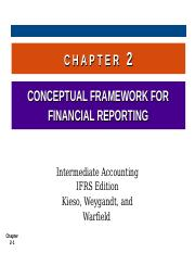 S Kieso IFRS 2 Ch02 Conceptual Framework.ppt