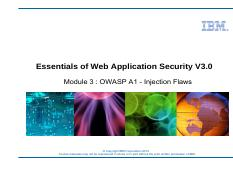 unit 3 - owasp a1 - injection flaws.pdf