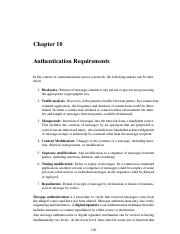 AuthenticationRequirements