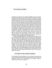 The_Synoptic_Problem