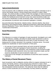 twaynes social movements essay Free essay: social movements nazis, national organization for women, national  association for the advancement of colored people and even the ku klux.