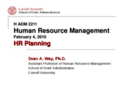 HR Planning PowerPoint Slides