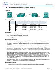 6.5.1.2 Lab - Building a Switch and Router Networkcomplete.pdf