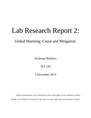 Lab Research Report 2