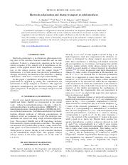 Serghei_2009_ElectrodePolarizationAndChargeTransportAtSolidInterfaces.pdf