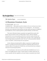 A Russian-Iranian Axis - The New York Times.pdf