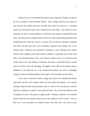 french revolution essay discuss the various causes major  6 pages industrial revolution