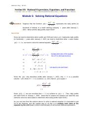 Module5_Solving_Rational_Equations
