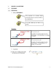 Notes - WQD10103 Tech Maths 1 - 2nd Edition - Chapter 1
