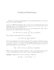 Conditional-distributions