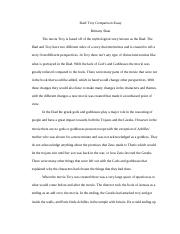 Illiad_ Troy Comparison Essay.docx