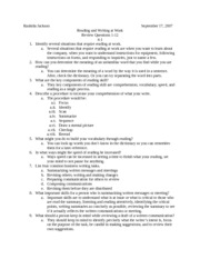 Chapter 4-1 Questions 1-12