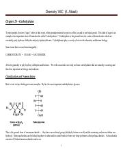 Chem 140C Lecture Notes  Spring 2016 Chapter 24