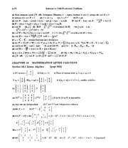 Calculus Solutions 31
