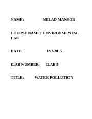 Discuss two sources of pollution that have affected Lake Erie