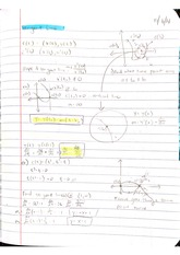 Lecture - Tangent Line