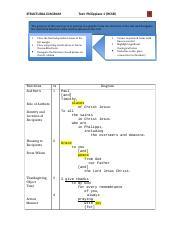 structural diagram philippians 1 english structural diagram worksheet - structural diagram text ... #3