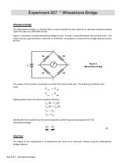 Exp # 207 - Wheatstone Bridge.pdf