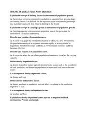Ecological Succession Worksheet - Ecological Succession Worksheet ...