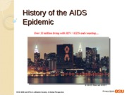 Lec Hx of AIDS