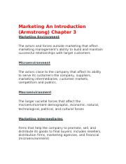Marketing An Introduction ch 3.docx