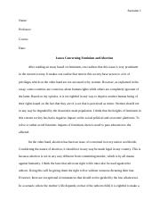 commentary essay