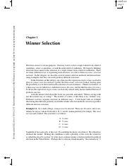 1. Winner Selection