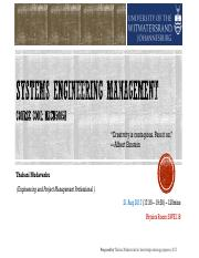 2017-08-21+WITS_MECN+5005A_Systems+Engineering+Management__Lecture+4+of+12_+SE+Overview+Rev+0.0.pdf