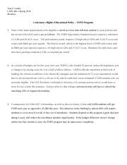 Assignment Ch 9 - 04-09-16 (Education Policy - TOPS).docx