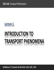 Lecture 1 Introduction to Transport Phenomena.pdf