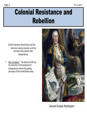 Colonial Resistance and Rebellion notes (part 2).pdf