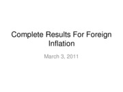 11-03-07-Complete Results For Foreign Inflation