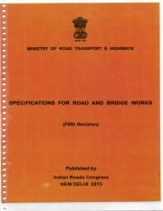 MORTH 5TH REVISION pdf - t^ a I a a\b-v MtNtsTRy OF ROAD
