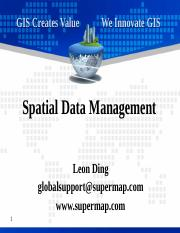 3 Spatial Data Management.pptx