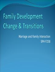 Wk2.1b Family Change, Transitions.ppt